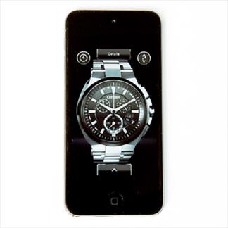 腕時計<br/>プロモーション<br/>スマートフォン<br/>App