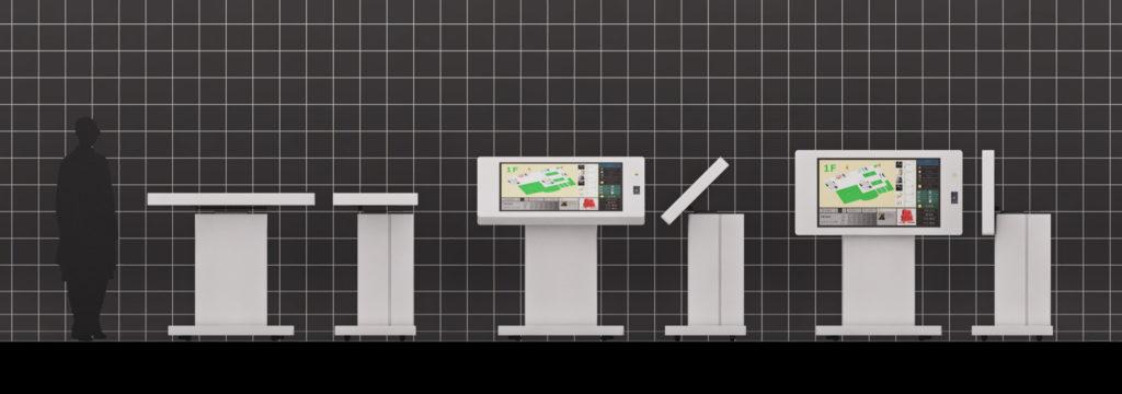 「COBRA」タッチ式スタンド型筐体シリーズ